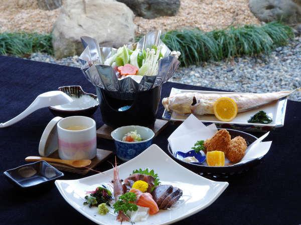 *【漁師宿ならではの海鮮定食】当館主人の獲りたて海の幸★1番美味しい食べ方でご提供致します。