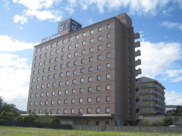 ホテル・アルファ-ワン能登和倉の外観