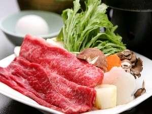 【指定】【グレードアップ和膳】上質な脂の旨みがたまらない!満足一番!★仙台牛肉のすき焼き★コース