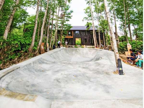 スケートボードパーク「Nupuri Bowl」