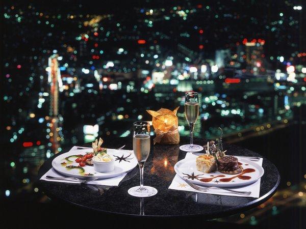 横浜ランドマークタワー最上階 シリウス窓側確約【禁煙席】18:00〜夕食付プラン♪