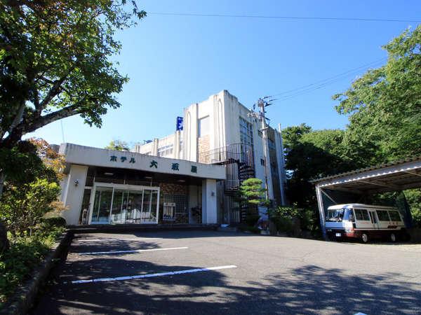 会津湯野上温泉 ホテル大坂屋の外観