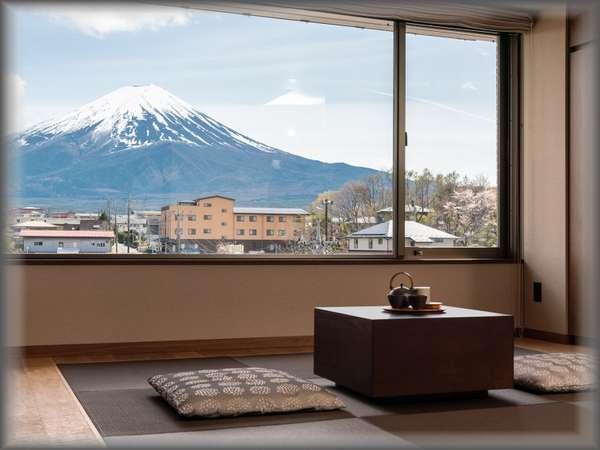 『別館』最上階富士眺望露天風呂付特別洋室 2021年4月新設