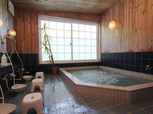 ◆【大浴場】大浴場はブラックシリカ温浴ジャグジーバス。体の芯からポカポカと温まるのが特徴です