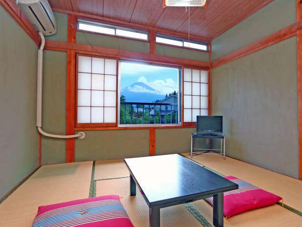 6~8畳和室◇富士山を眺めながらごゆっくりどうぞ♪