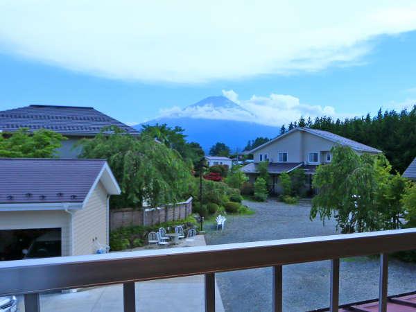 お部屋からの眺め<富士山>