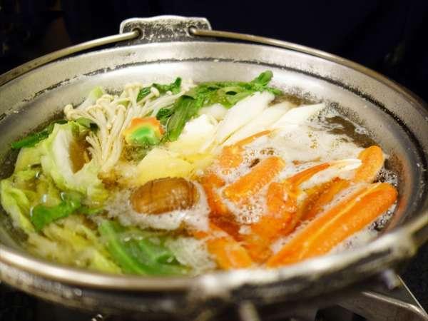 ◆かにすき鍋会席◆〜寒い冬はやっぱりあったか鍋♪〆は雑炊でお腹いっぱい!〜