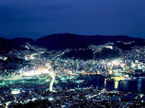 【60歳から】夜景観光タクシー&美食中華付!長崎ぶらり旅<2食付>