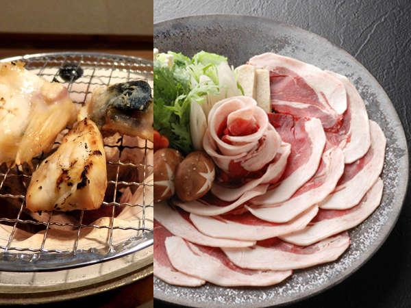 新プラン!『ぼたん鍋とふぐのお料理』で冬の味覚を堪能♪