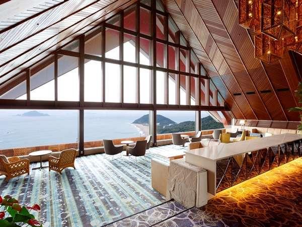 【朝食モーニング】朝はゆっくり絶景の喫茶でモーニング体験♪ご夕食は和洋中グリルブッフェ!<一泊二食>