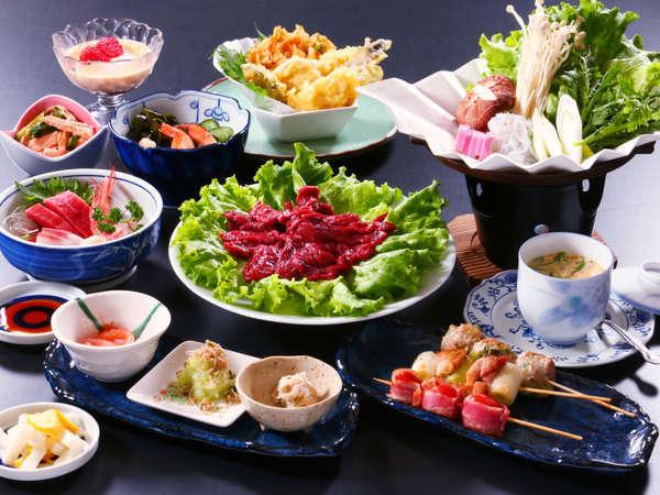 お食事◆グレードアップお食事例