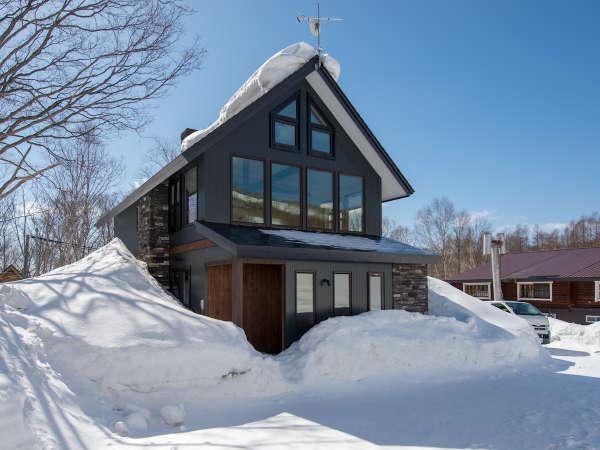 【冬季 3泊以上】ニセコモイワスキー場近く1棟貸し別荘素泊まりスタンダードプラン