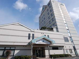 美祢グランドホテルの外観