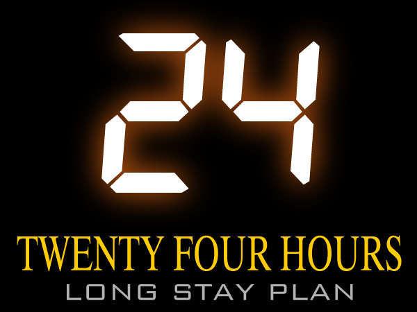 【ロングステイ】15時チェックイン〜翌15時チェックアウト 最大24時間滞 在可能!朝寝坊もオッケー!