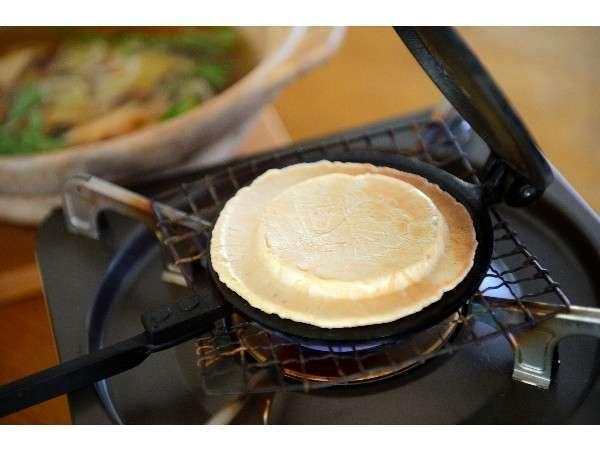 【自分で焼いて!】八戸名物てんぽせんべい焼き体験プラン(朝食無)