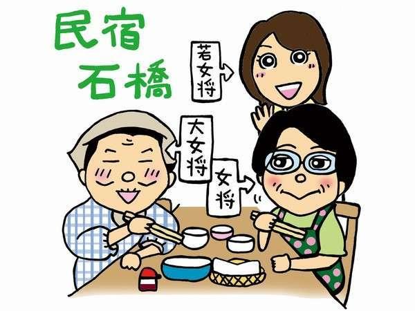 ぴかぴかの宿 民宿石橋