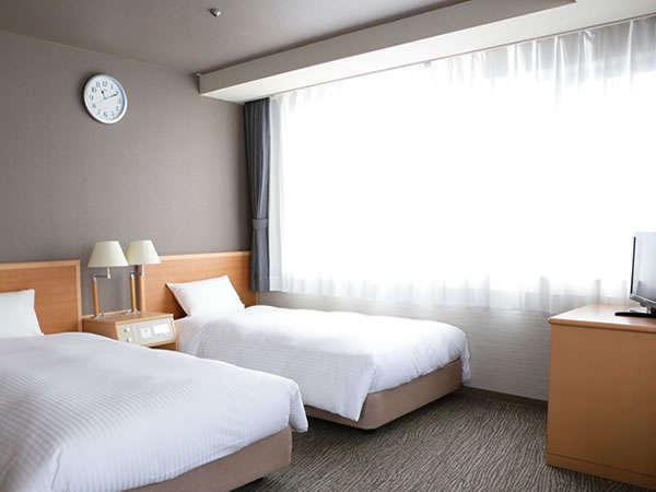 2ベットルームのスタンダードツイン【20㎡】全室Wi-Fi完備
