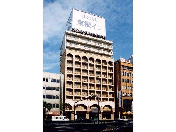 東横イン大阪なんば府立体育会館西の外観
