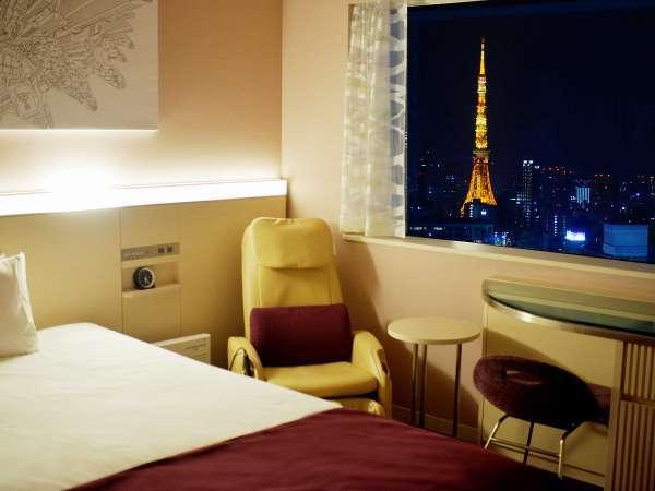 【東京タワービュー確約!】きらめく夜景を満喫ステイ