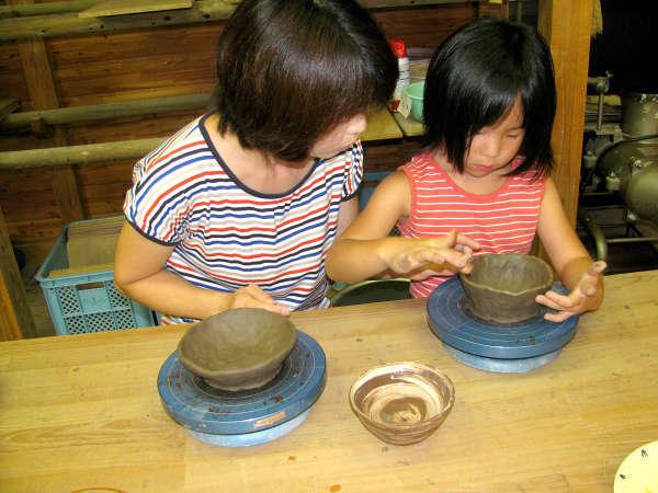 【世界に1つだけの作品を】オリジナルの陶器を作ろう!陶芸体験付プラン