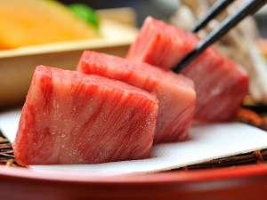 """『贅沢に舌鼓♪』""""極上""""前沢牛の網焼き&ロースト前沢牛の握り付き和食膳プラン"""