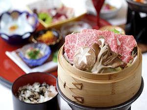 前沢牛の和食膳(イメージ)前沢牛と旬の食材を使ったお料理の数々。
