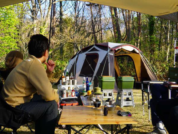 1日5組限定八幡平ハイツ森のキャンプ場