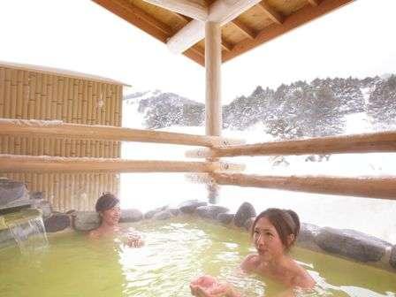 <百泉の湯>露天風呂