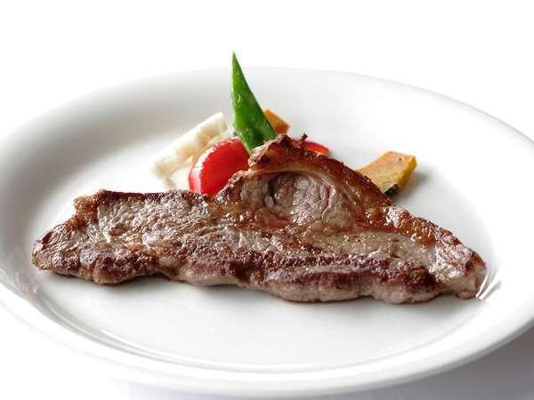 追加メニュー:ステーキ(オーストラリア産牛肉)¥980