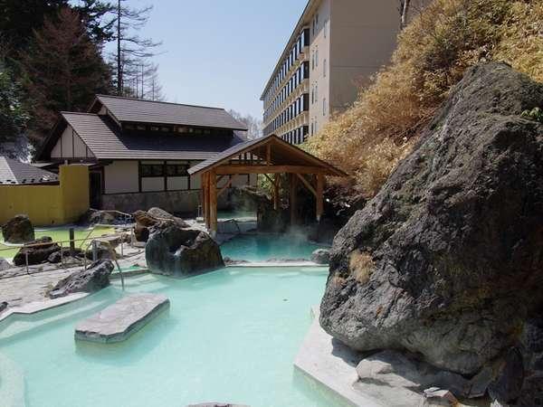 石庭露天風呂「水晶(すいしょう)の湯」