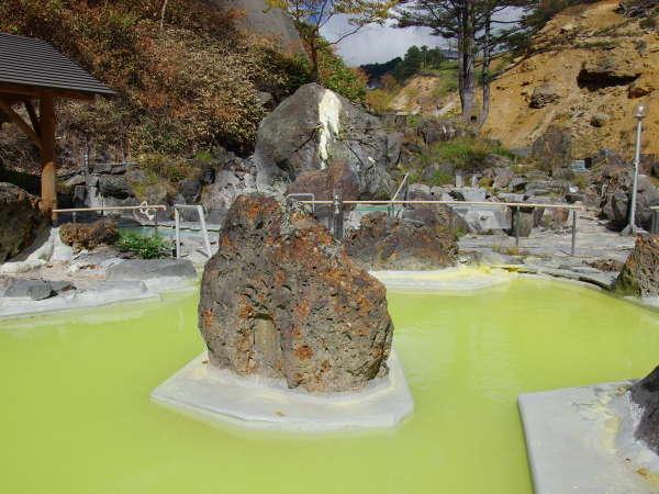 石庭露天風呂「竜泉(りゅうせん)の湯」