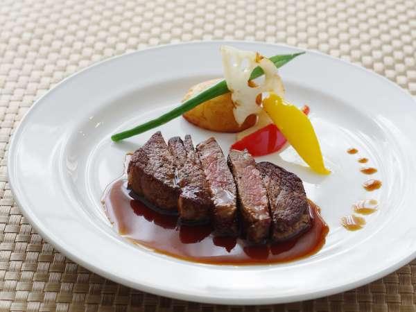 追加メニュー:フィレステーキ(オーストラリア産牛肉)¥1,300