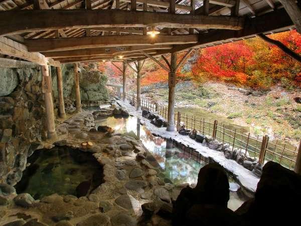 紅葉シーズンの露天風呂は最高です♪10月下旬~11月上旬