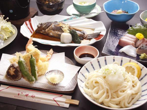 スタンダード★旬の地魚と本格派の讃岐うどんなど、「いそや」ならではのおもてなしをご満喫ください!