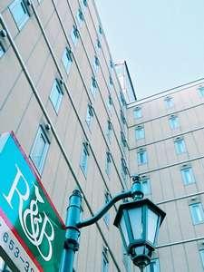 R&Bホテル盛岡駅前の外観