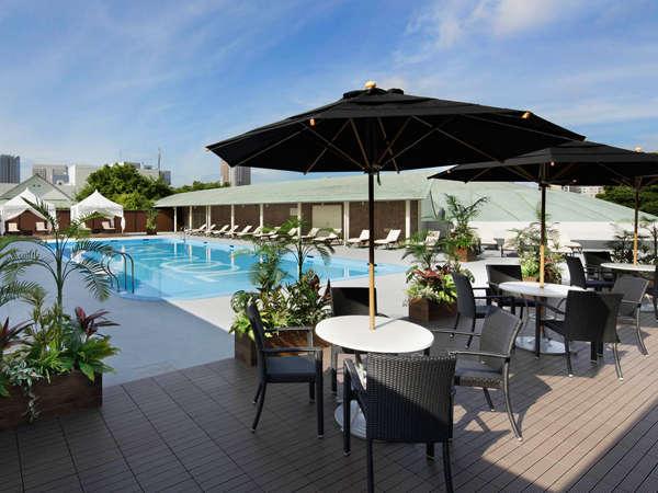 【憧れのホテルプール】プール券付き☆2つの屋外プールでリゾート気分を満喫☆(朝食付き)