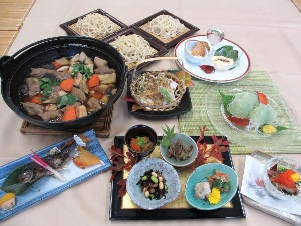 【鬼無里特産】「えごま」を使った素朴な会席料理で信州を満喫をする1泊2食付プラン!!