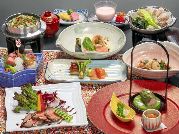 彩華◆旬の美味と希少食材を贅沢に使用したコース※画像はイメージです。