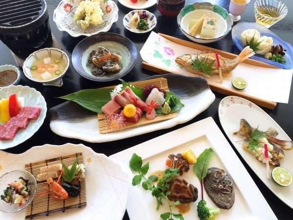 【9月までの平日限定★早期割7】贅沢なお料理コース『ぐるめプラン』が1500円もお得♪