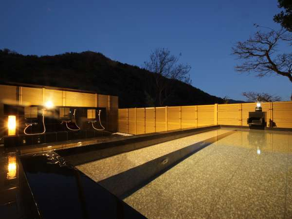 【露天風呂】1階に露天風呂オープン!!