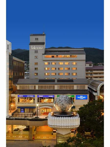 ホテル竹園芦屋外観写真