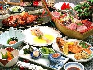 一番の人気料理を集めたプラン。伊豆の旬、魚が楽しめます。