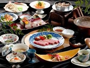 季節を感じる食材満載の懐石料理(1例)