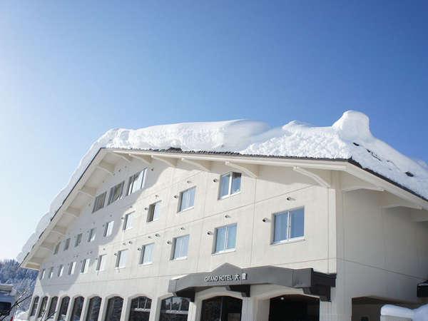 旭岳温泉グランドホテル大雪の外観