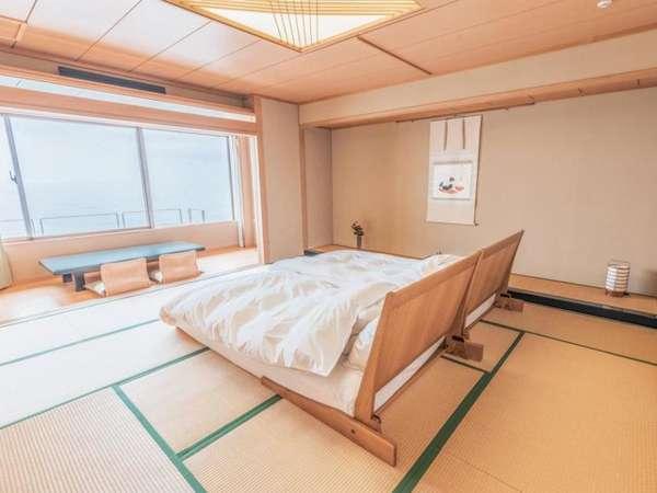 【新館】和室二間 職人仕事が随所に冴え渡る、古き佳き伝統を受け継ぐ二間続きの純和室