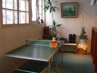 3階プレイスペース卓球で遊ぼう。