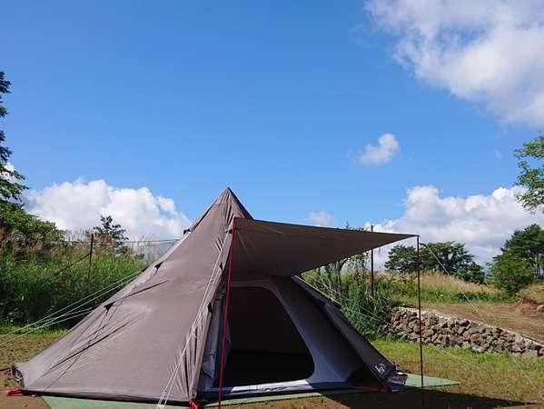 【8人用テント】自然を満喫してみよう!