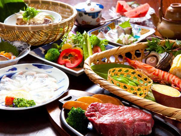 【鉄輪の味】ご夕食一例