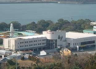 ホテルサンパールの外観