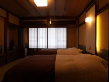 ベッド付和室 乳白色のにごり湯 滋養八菜プラン